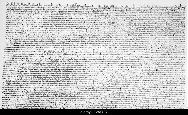 the magna carta s influence on the Yet we can argue with conviction that magna carta is at the root of westminster-   carta will not seem too unrelated to its influence on the development of.