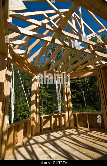 Wooden Roof Joists Stock Photos Amp Wooden Roof Joists Stock