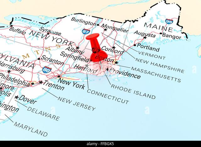 Cranston Rhode Island Stock Photos Cranston Rhode Island Stock - Rhode island usa map
