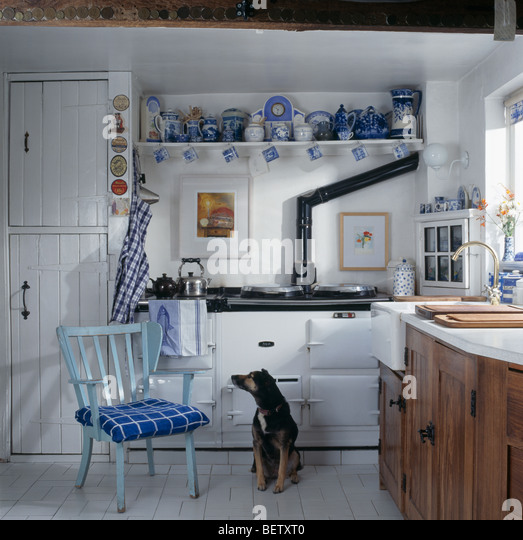 Cottage Kitchen Flooring Continued: Aga Dog Stock Photos & Aga Dog Stock Images