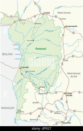 Paraguay River Basin Stock Photos & Paraguay River Basin Stock ...