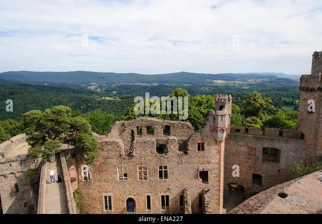 Castle Auerbach Bensheim Stock Photos Castle Auerbach
