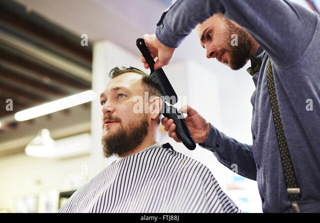 Salon Haircut Stock Photos Salon Haircut Stock Images Alamy