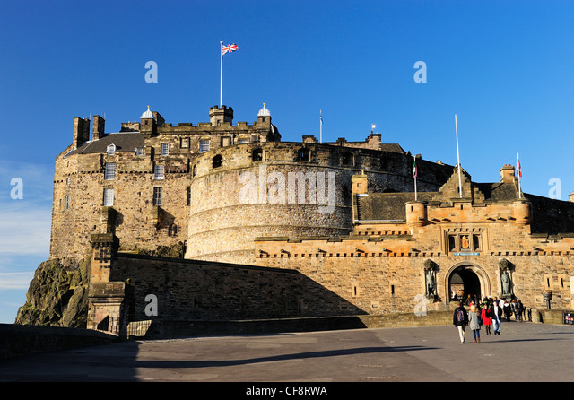 stock edinburgh castle - photo #18