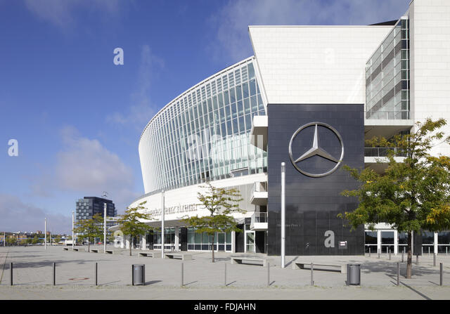 mercedes benz arena germany stock photos mercedes benz. Black Bedroom Furniture Sets. Home Design Ideas