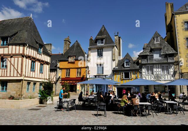 Medieval times restaurant stock photos medieval times restaurant stock images alamy - Saint maclou quimper ...