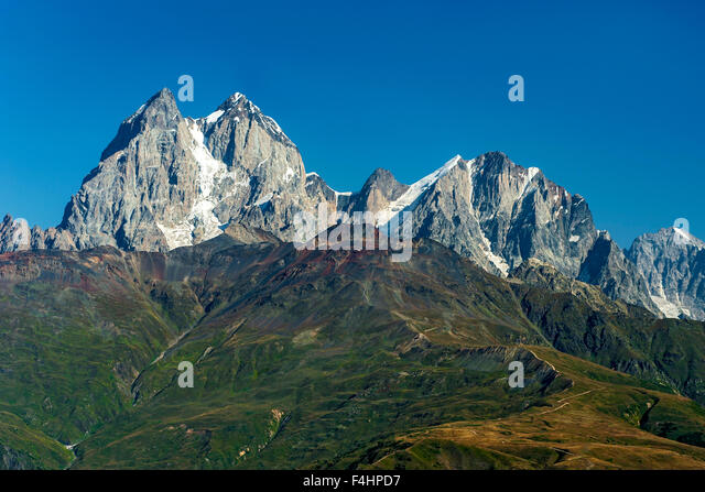 Mount Ushba Stock Photos & Mount Ushba Stock Images - Alamy