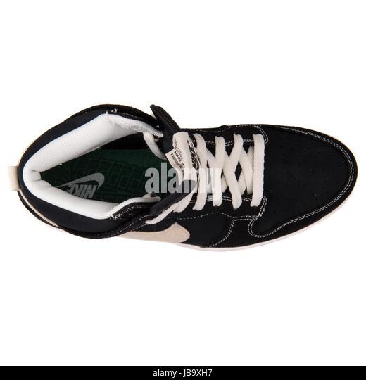 Nike Dunk CMFT Black Men's Basketball Retro Shoes - 705434-002 - Stock Image