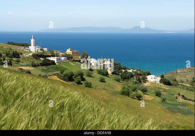 Gibraltar ceuta stock photos gibraltar ceuta stock - Moroccan port on the strait of gibraltar ...