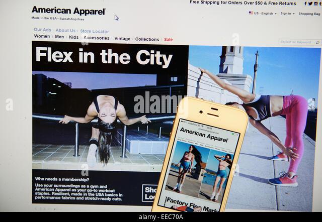 American Apparel Stock Photos & American Apparel Stock Images - Alamy