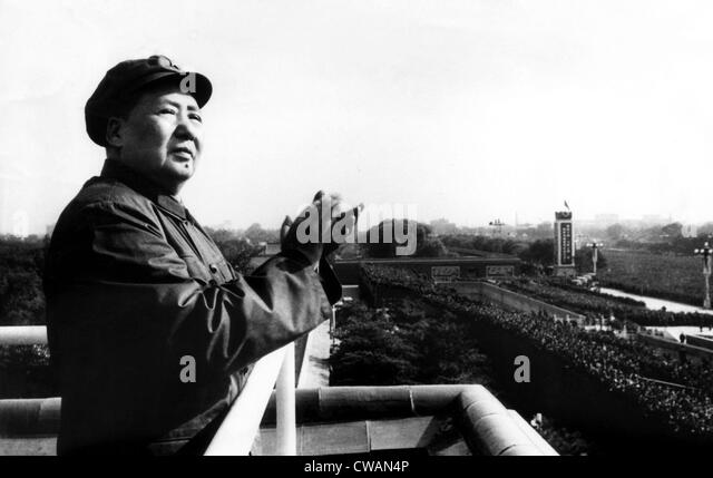 Red guards 1966 stock photos red guards 1966 stock for Chairman mao