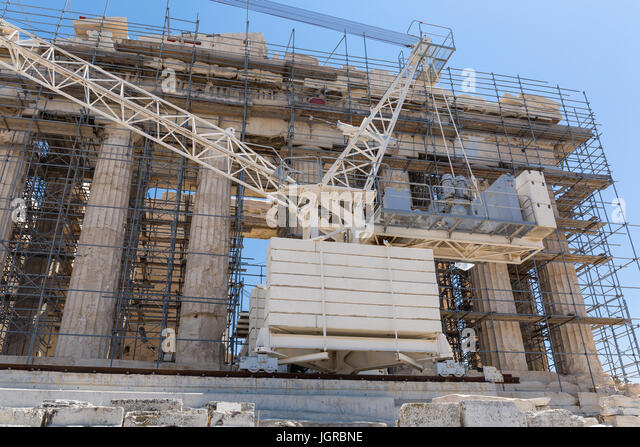 the construction of the acropolis of athens Construction continued intermittently  members of the acropolis restoration  and some 150 to 200 cities across the aegean began paying athens huge sums of.