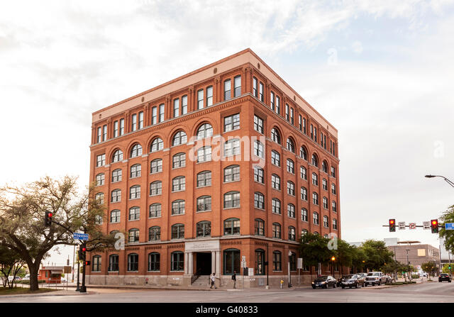Sixth Floor Museum At Dealey Plaza In Dallas, USA   Stock Image