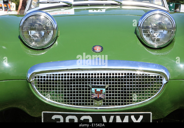 austin healey bonnet badge stock photos austin healey. Black Bedroom Furniture Sets. Home Design Ideas