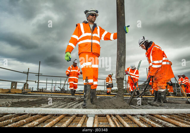 Network Rail Workers Stock Photos Network Rail Workers