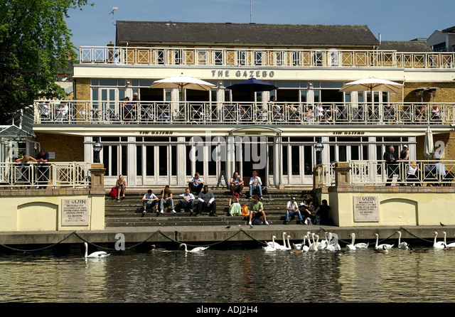 The Gazebo Pub Kingston Upon Thames River