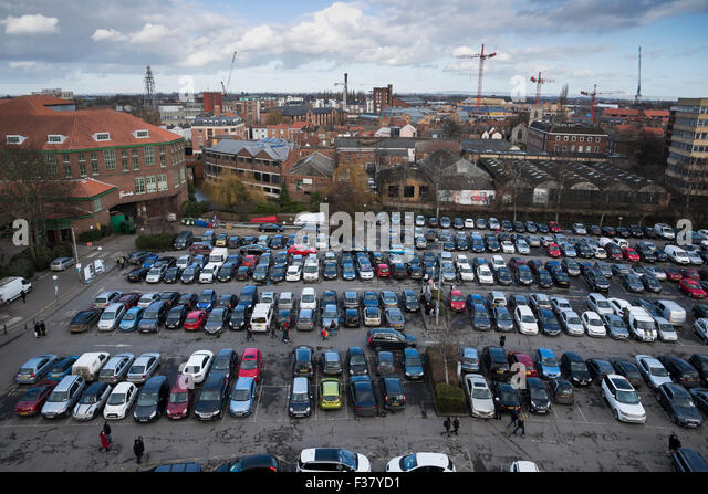 Lots of cars from above stock photos lots of cars from for Jet car rotterdam