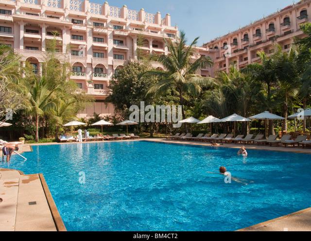 Leela palace bangalore stock photos leela palace Bangalore resorts with swimming pool