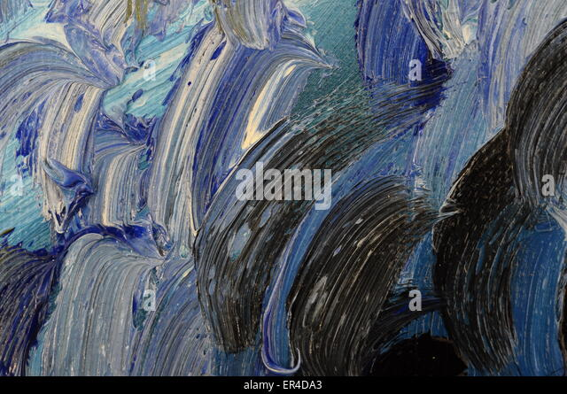 Blue Oil Painting Stock Photos Amp Blue Oil Painting Stock