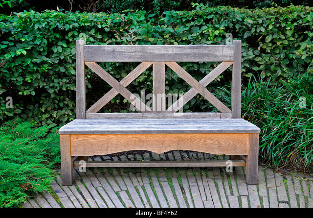 Garden Seat And Secluded Stock Photos Garden Seat And Secluded