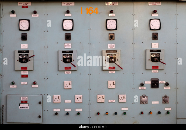 old electrical switchgear stock photos  u0026 old electrical