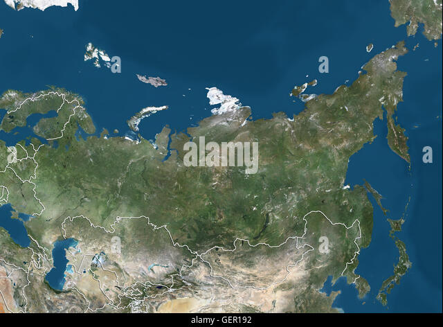 Russia Country Boundaries Stock Photos Russia Country Boundaries