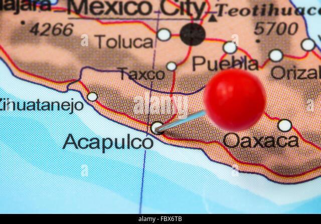 Acapulco Mexico Photos Acapulco Mexico Images Alamy – Acapulco Mexico Map