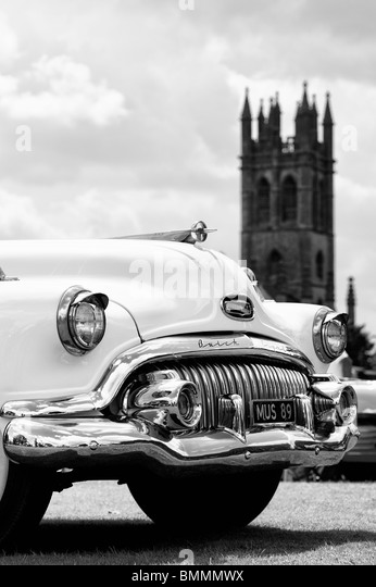 Buick Eight Front End A Classic American Car At Churchill Vintage Show