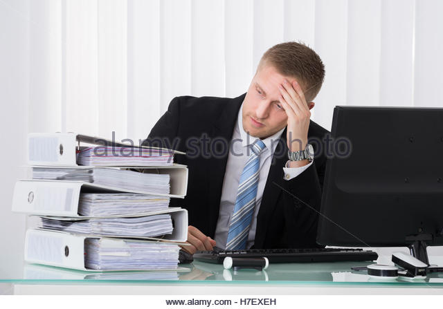Office Workers Sad Stock Photos & Office Workers Sad Stock ...