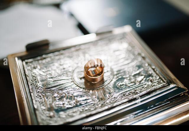 Wedding orthodox or christening baptism   Stock ImageOrthodox Wedding Stock Photos   Orthodox Wedding Stock Images   Alamy. Orthodox Wedding Rings. Home Design Ideas