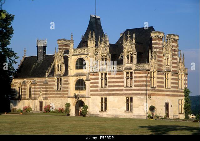 Chateau d 39 etelan stock photos chateau d 39 etelan stock - Haute normandie mobel ...
