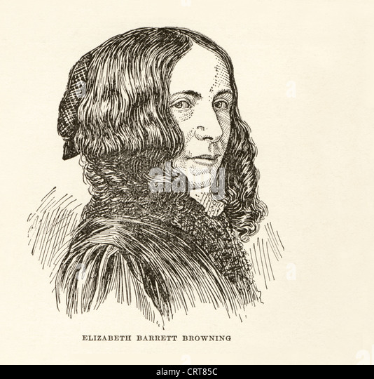 victorian poet elizabeth browning essay Known for her poetry, letters, love affair and marriage to robert browning,  elizabeth barrett browning also left a legacy of unanswered.