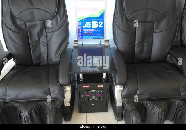 massage chair au. backache massage chairs at sydney airport,australia - stock image chair au