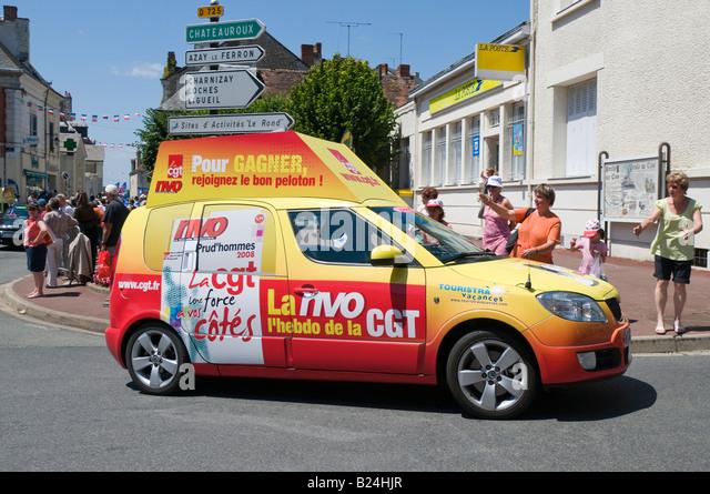 Tour de france caravan stock photos tour de france for Caravane chambre 19 paris