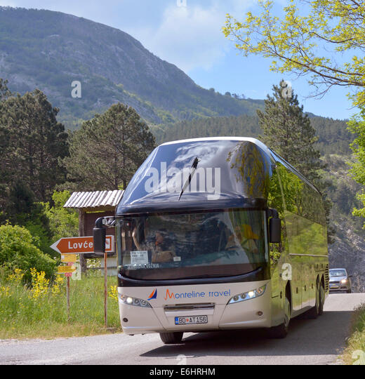 how to get to lovcen national park from kotor