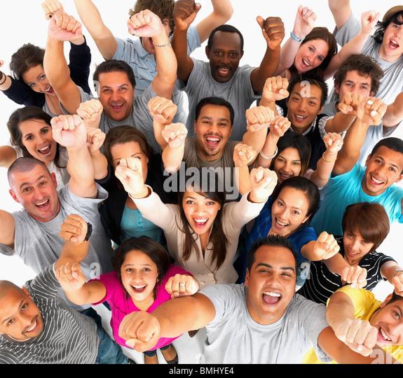 Black White People Together Hands Together Black W...