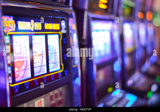 slot machines addiction
