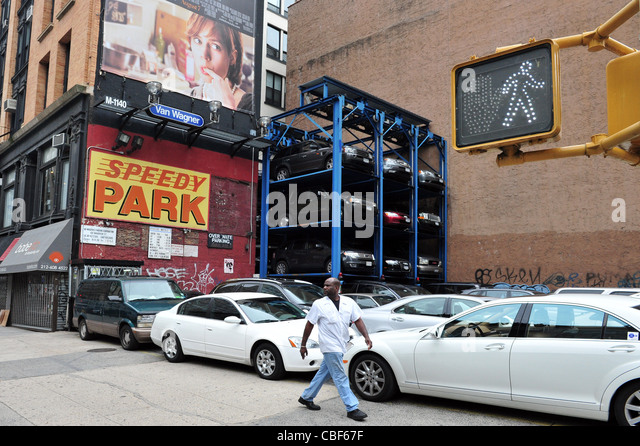 Expensive parking space stock photos expensive parking for Parking garages new york city