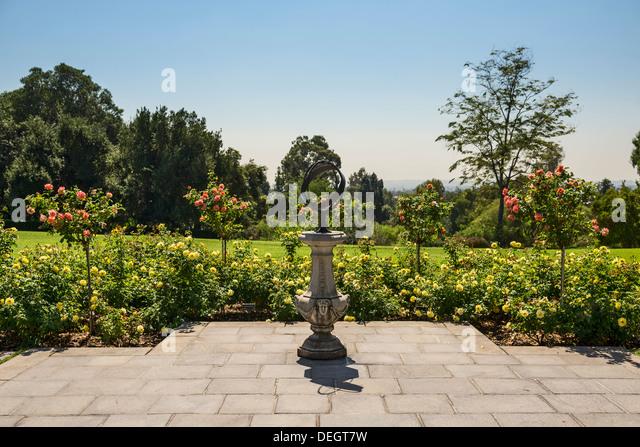 Entrance To Portland Rose Gardens : Entry gardens stock photos images