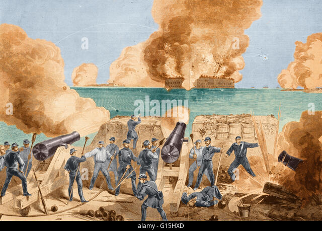 Battle Of Fort Sumter Stock Photos & Battle Of Fort Sumter Stock ...