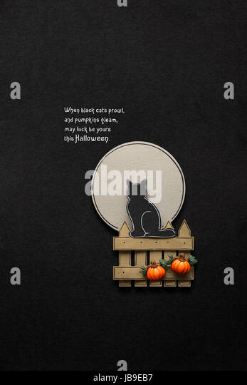 Banner With The Symbol Of A Witch Stock Photos Banner With The