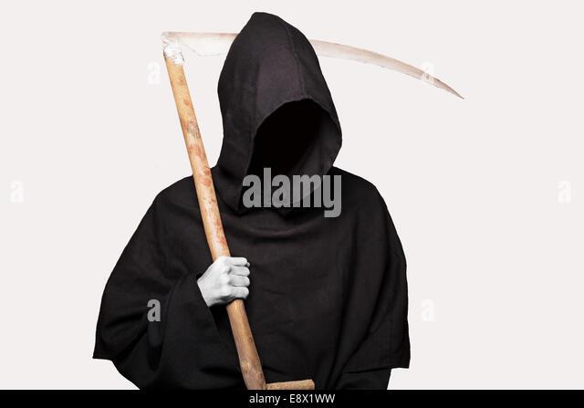 grim reaper halloween death stock image - Reaper Halloween