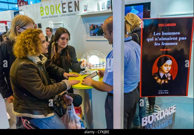 Bookeen stock photos bookeen stock images alamy for Salon du livre france