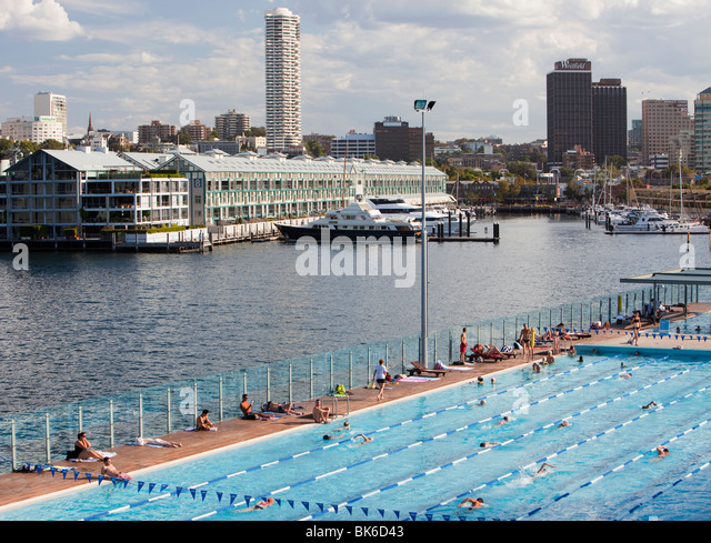 Harbour And Swimming Pool Stock Photos Harbour And Swimming Pool Stock Images Alamy