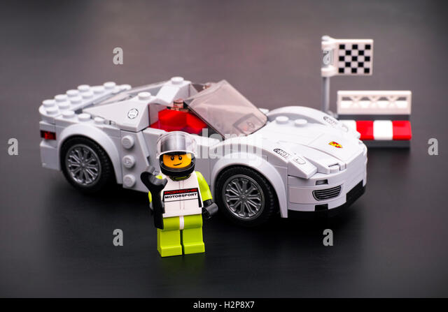 lego car stock photos lego car stock images alamy. Black Bedroom Furniture Sets. Home Design Ideas