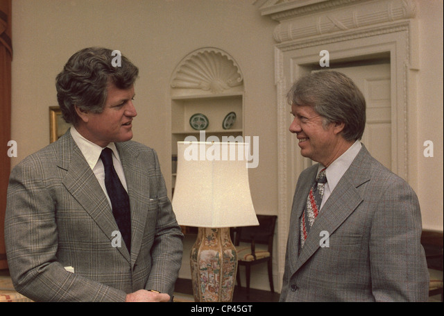 jimmy carter oval office. senator edward kennedy 19322009 meets with president jimmy carter in the oval office i