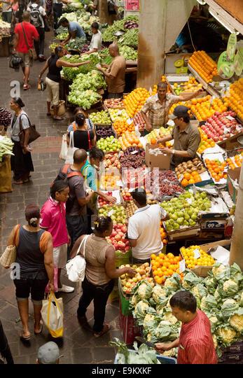 Port louis market stock photos port louis market stock images alamy - Mauritius market port louis ...