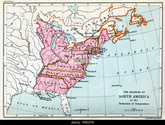 Maps Of United States Growth Of Nation Maps United States Map - Map of us in 1776