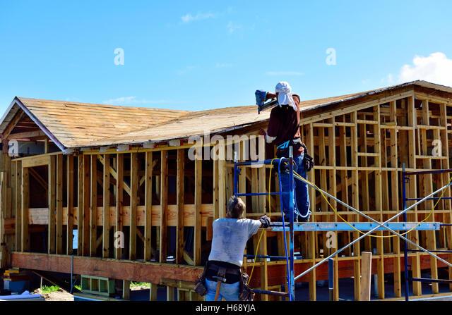 Timber frame house stock photos timber frame house stock for Wood frame house in florida