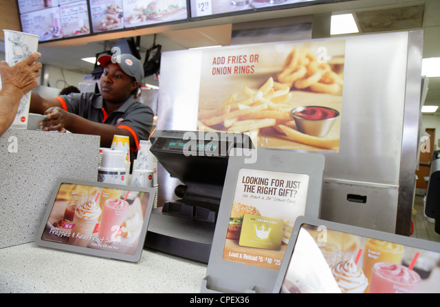 Fast food employee usa stock photos amp fast food employee usa stock
